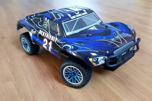 Carro elétrico 1:10 HSP Rally Monster Azul Normal ou Brushless
