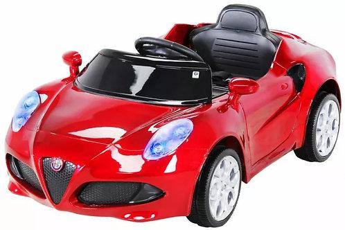 Carro infantil Ride On 12V Alfa Romeo com comando e música
