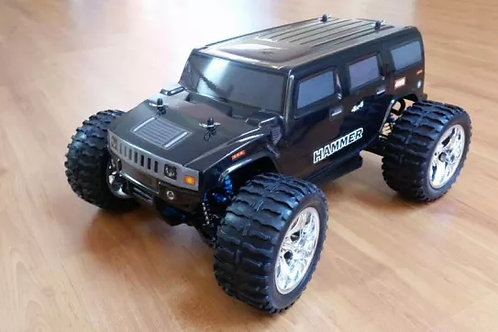 Carro elétrico 1:10 HSP Monster Truck Hammer Normal ou Brushless