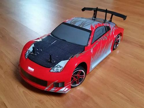 Carro elétrico HSP 1:10 370Z Vermelho Pista ou Drift, Normal ou Brushles