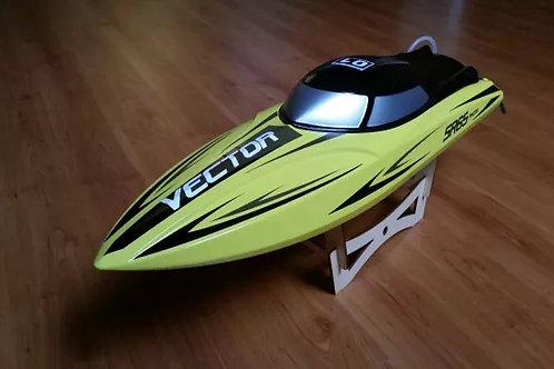 Barco Lancha RC Volantex 792-5 Vector SR65 amarelo