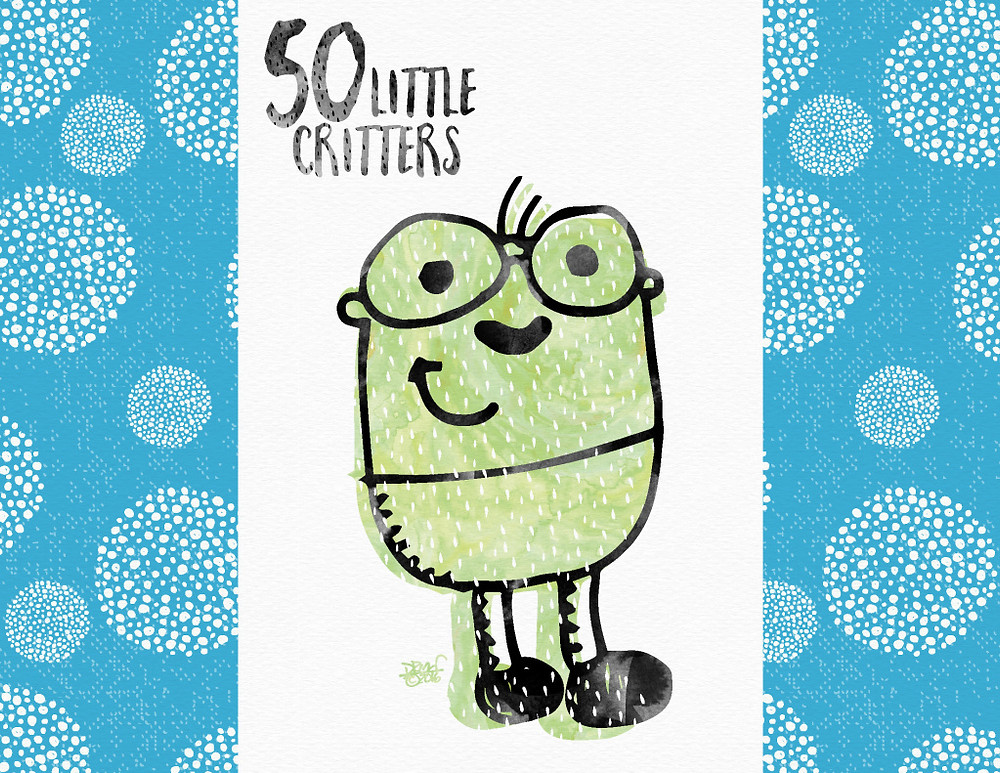 50 Little Critters (c)2016 Drew Gold. All rights reserved.