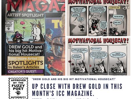 ICC Magazine Drew Gold Artist Spotlight