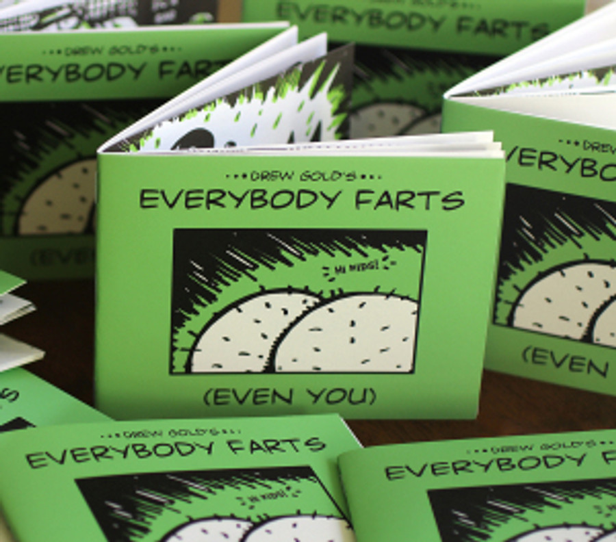 Everybody Farts (Even You) (c) 2015 Andrew Gold. All rights reserved.