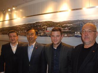 Besøk av den Kinesiske Ambassadøren