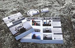 Brosjyre laget for Arctic Dive