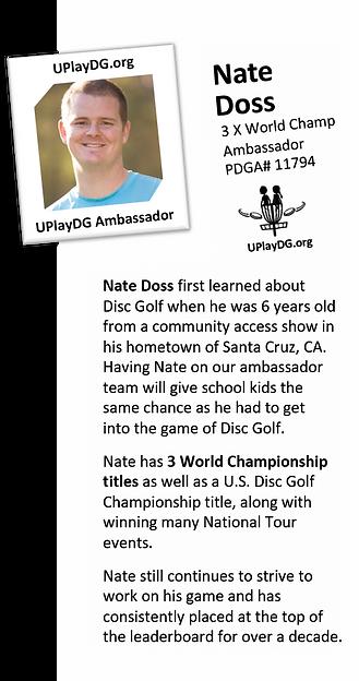 Nate Doss - UplayDG.org