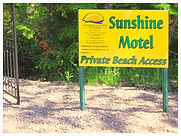 Sunshine Motel Beach Access