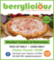 Pizza pickup special for berrylicious we