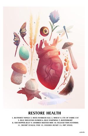 RESTORE HEALTH Poster Design
