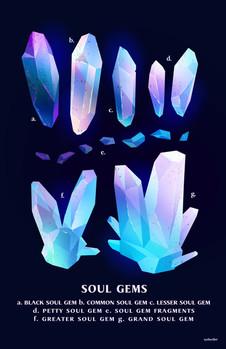 SOUL GEMS Poster Design