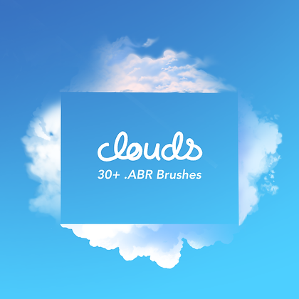 Clouds: 30+ .ABR Brushes