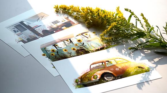 4x6 𝑀𝑒𝓉𝒶𝓁𝓁𝒾𝒸 Carden Mini Prints