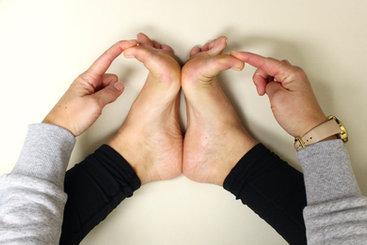 Toe/foot stretch