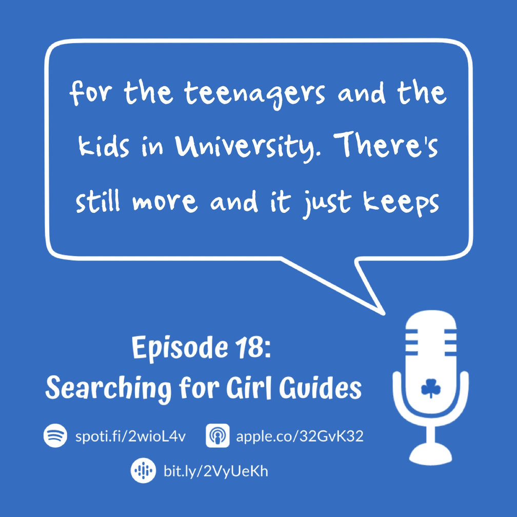 Episode 18 - Searching for Girl Guides
