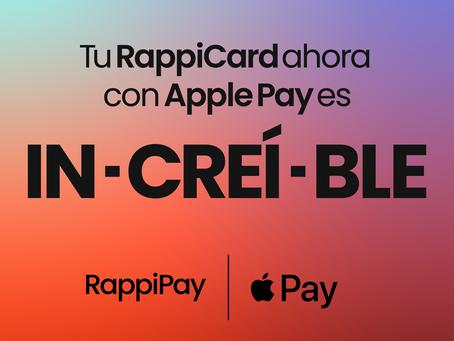 Te queremos presentar: RappiCard con Apple Pay