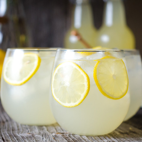 Probiotic Honey Lemonade⠀