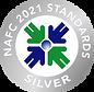 2021 NAFC Standards Seal Silver transpar