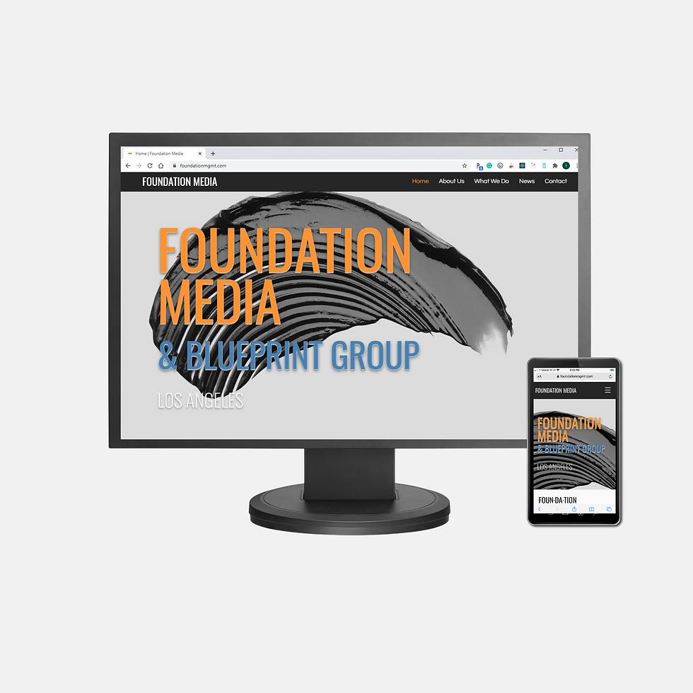 Foundation Media Webite - Client Site
