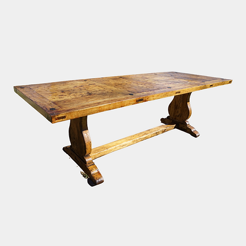 Delight in a South American Bubinga Dining Table