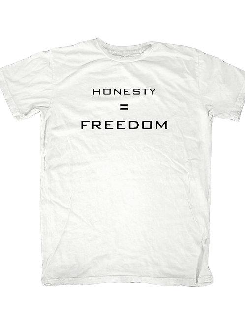 Honesty = Freedom