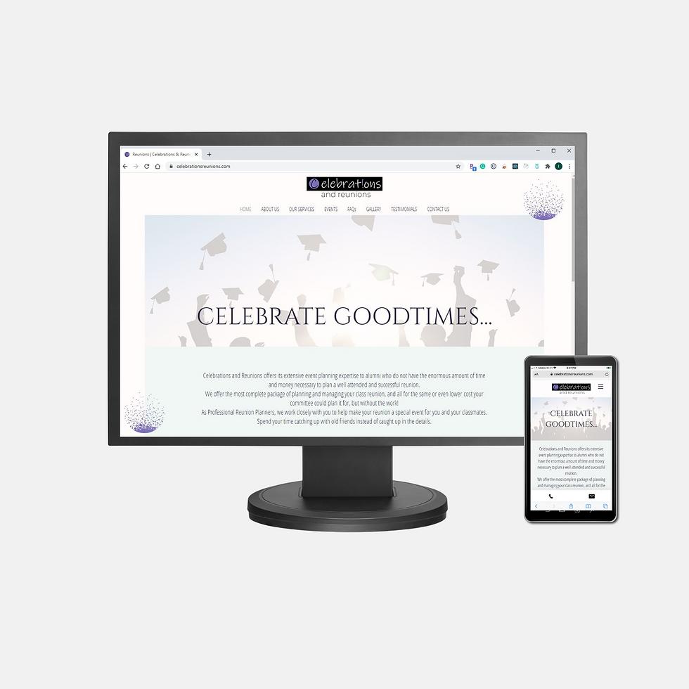 Celebrate Goodtimes Client Website