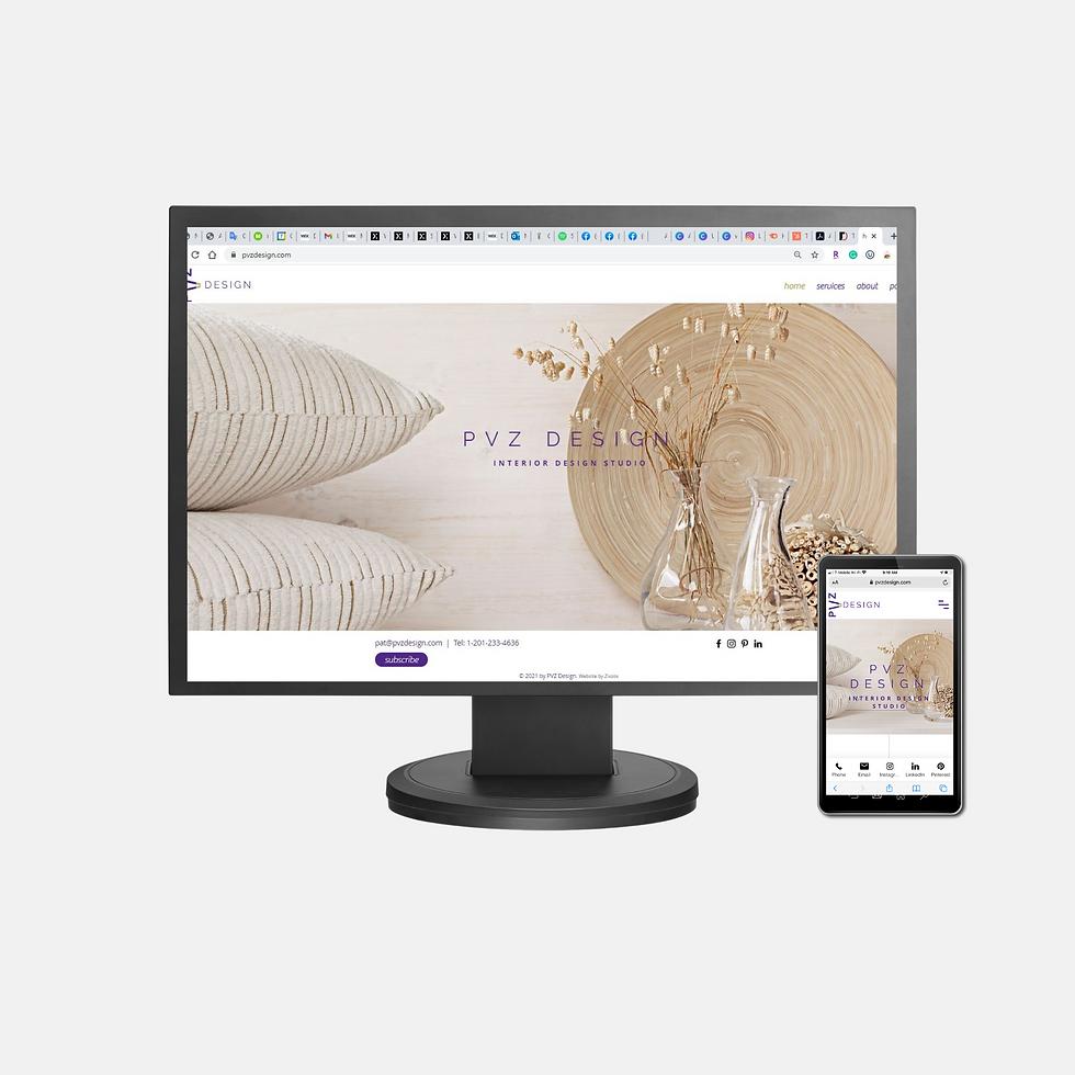 PVZ Design - Client Website