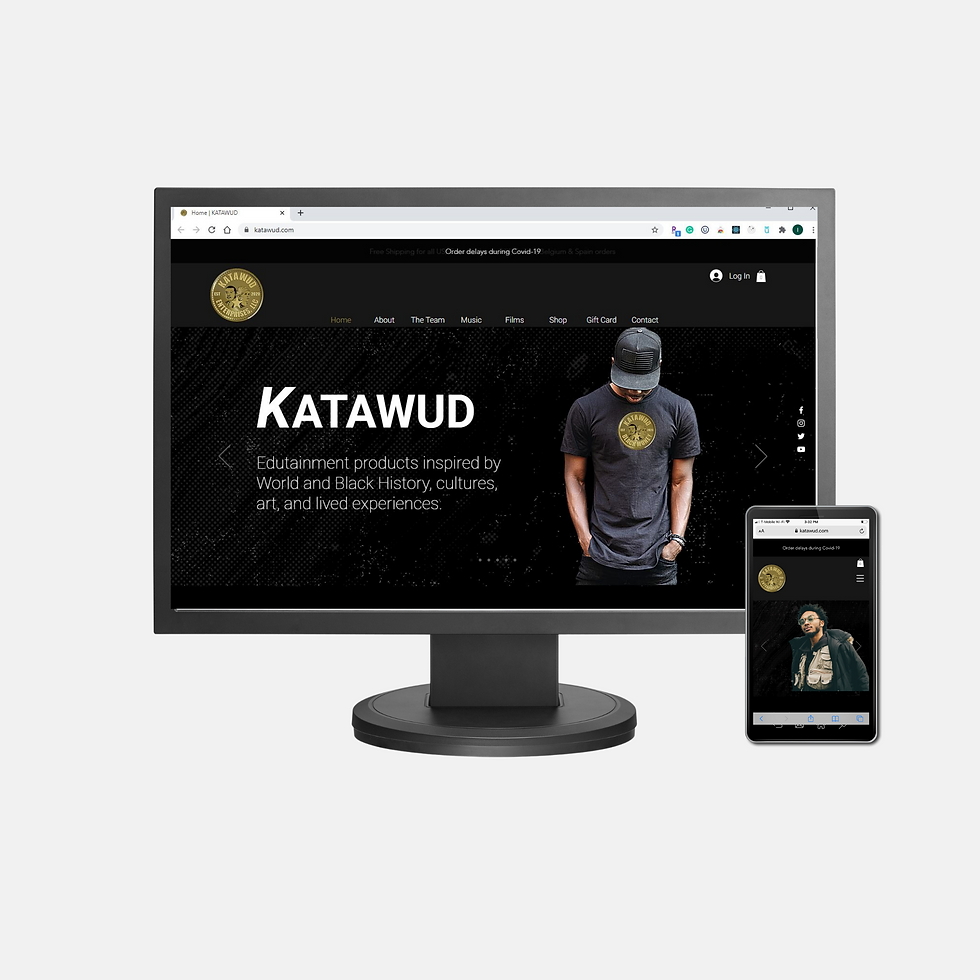 Katawud - Client Website