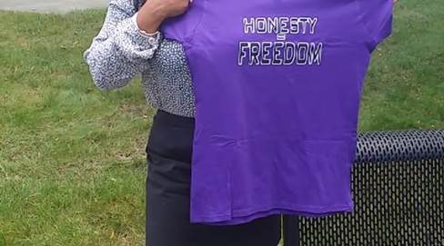 Honesty = Freedom testimonial