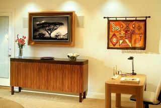 Custom bedroom furniture.