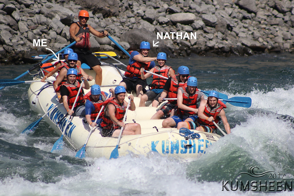 Whitewater white water rafting, Kumsheen