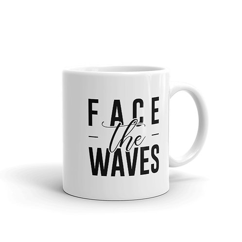 Face the Waves Mug