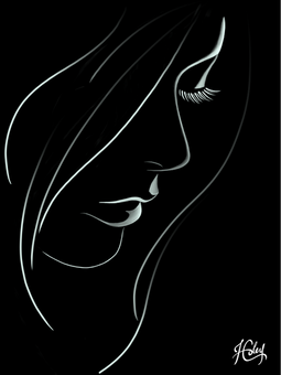 Abstract Woman Line Art.png