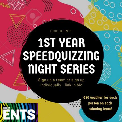 First Year SpeedQuizzing Night Series