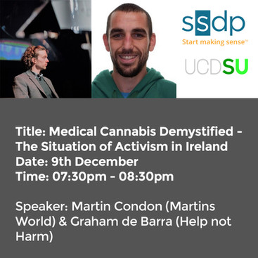 Medical Cannabis Demystified - The Situation of Activism in Ireland Dec 9th 2020