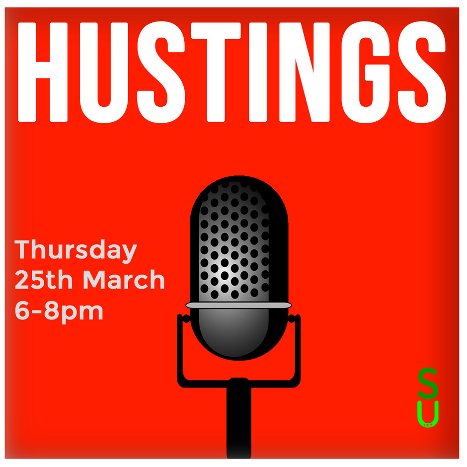 Exec Election - Hustings