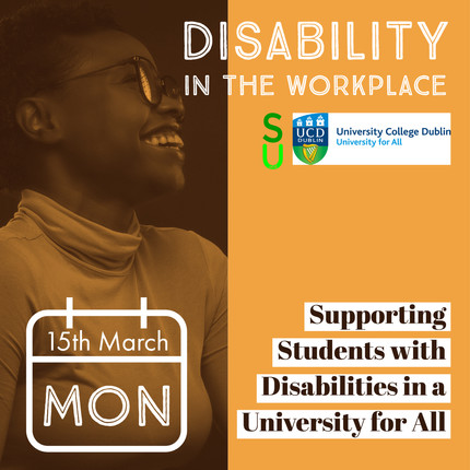 Supporting Students with Disabilities in a University for All - Disability in the Workplace Series