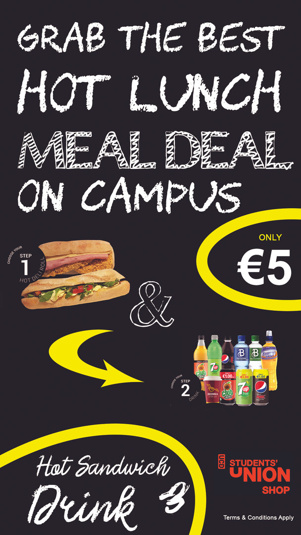 Hot Meal Deal €5