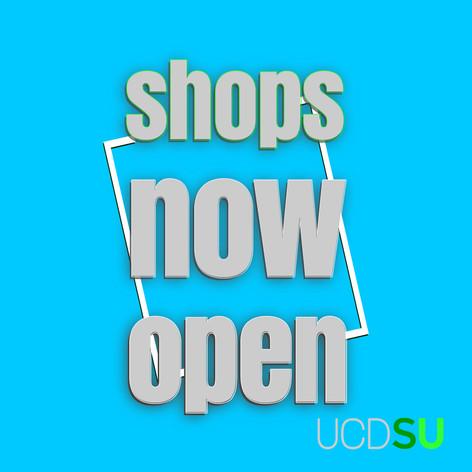 UCDSU Shops Open