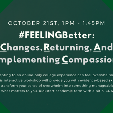 FEELINGBetter - Workshop 21 October