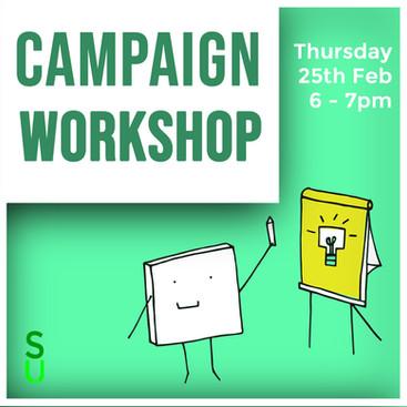 Exec Elections - Campaign Workshop