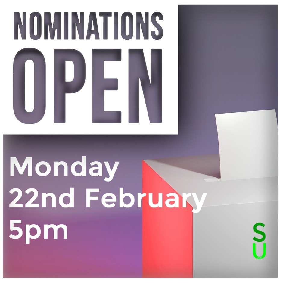 Exec Elections - Nominations Open Briefing