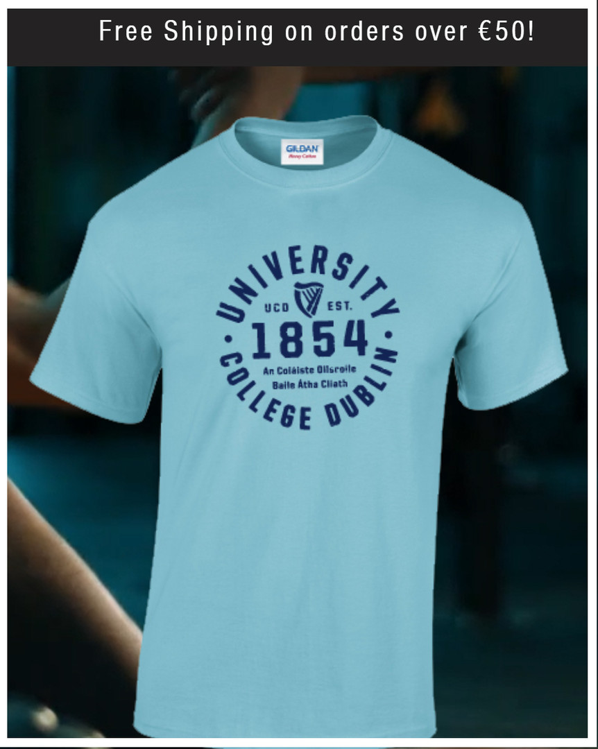 Sapphire blue UCD 1854 Tshirt