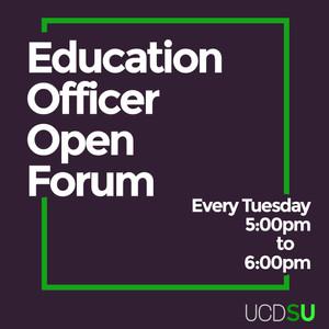 Education Officer Open Forum