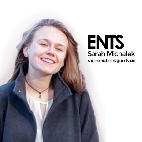 Sarah, Ents