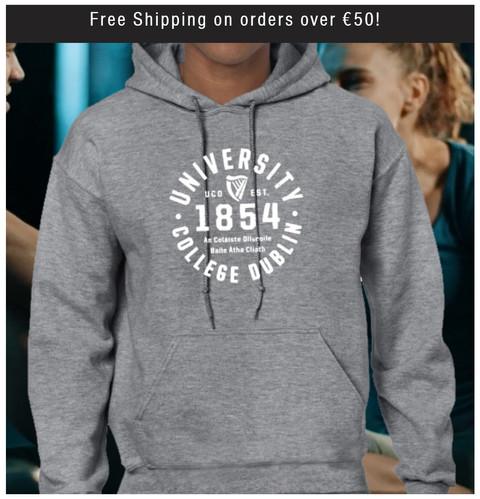 Sport Grey UCD 1854 Hoodie