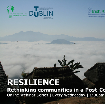 Resilience Webinar every Wednesday at 1.30pm