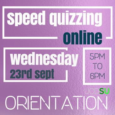 Speed Quizzing Online! 23rd Sept 2020