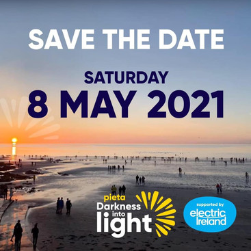 Darkness into Light Save the Date