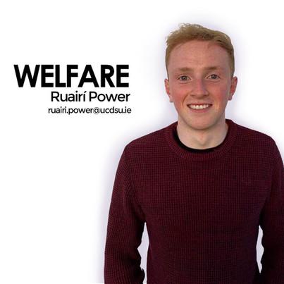 Ruairí, Welfare